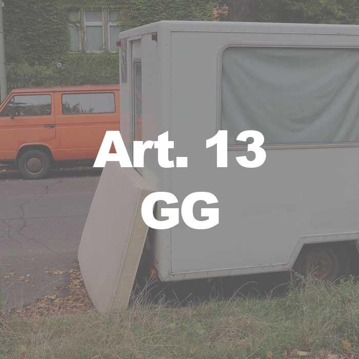 Foto zum Grundgesetz Unverletzlichkeit-der-Wohnung-(Art.-13-Abs.-1-GG)