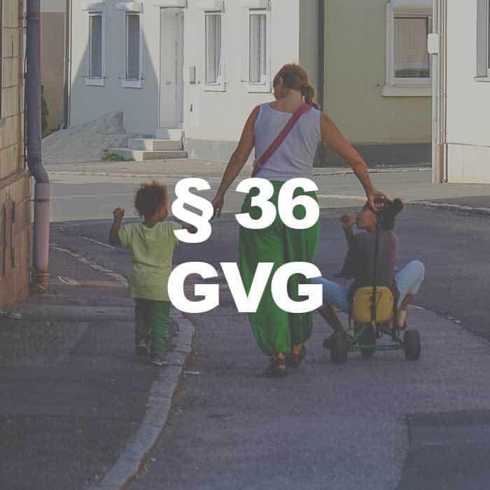 GVG (§ 36 Abs. 2 Satz 1 GVG) Vorschlagsliste für Schöffen