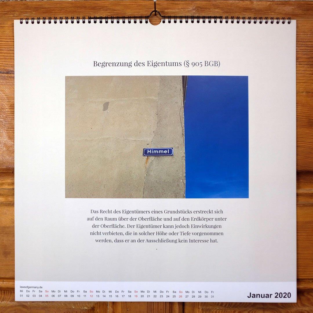 Laws-of-Germany-Rechtsbilder-Kalender-Jahr-2020-01