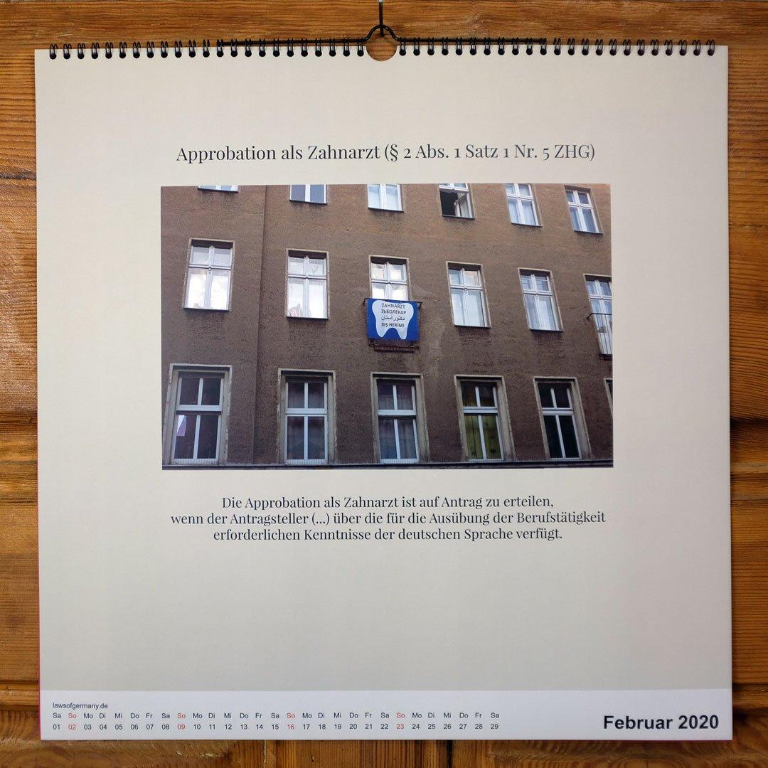 Laws-of-Germany-Rechtsbilder-Kalender-Jahr-2020-02