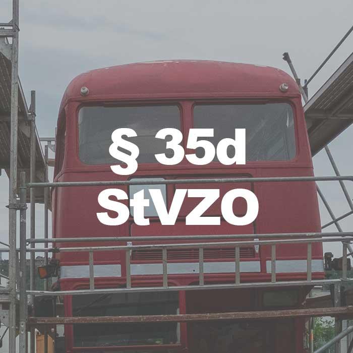 Einrichtungen zum Auf- und Absteigen an Fahrzeugen (§ 35d StVZO)